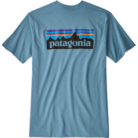 Patagonia P-6 Logo Responsibili Tee Herr mako blue